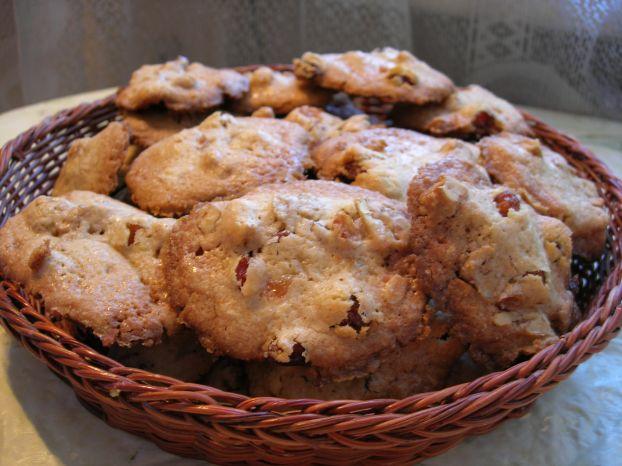 печенье с грецким орехом и кленовым сиропом
