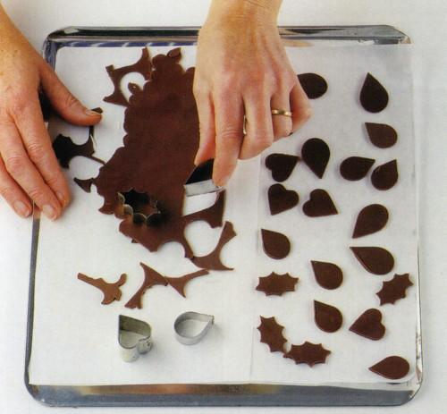 Фигурки для торта из шоколада своими руками фото