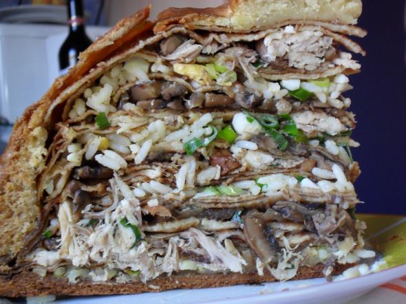 Тесто на пирог на скорую руку рецепт с фото