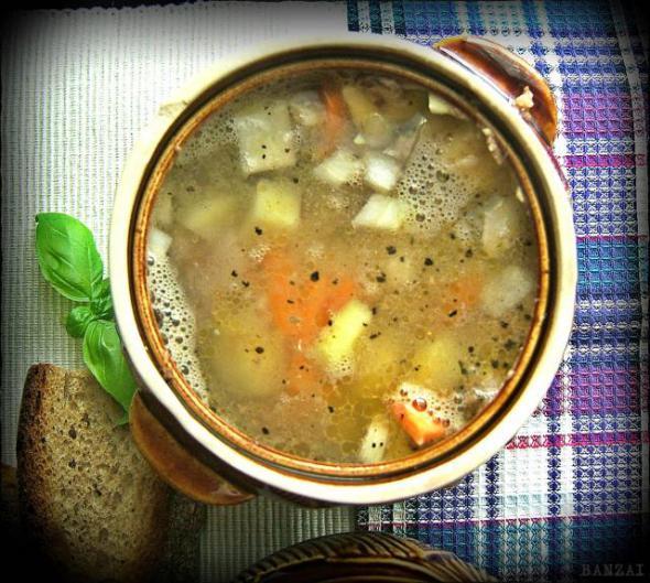 Консервный суп рецепт