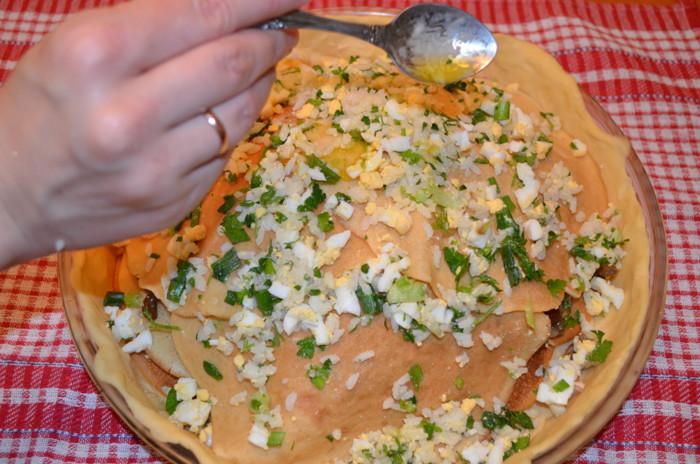 курник рецепт приготовления с фото по шагам.