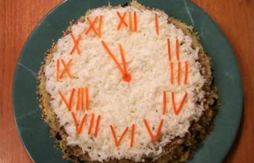 Новогодние салати рецепти фото