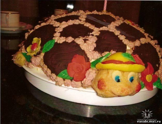 Как украсить детских тортов с фото пошагово в домашних условиях