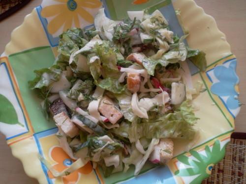 Овощные салаты в домашних условиях