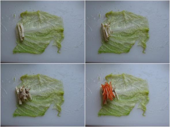 Овощные рулеты