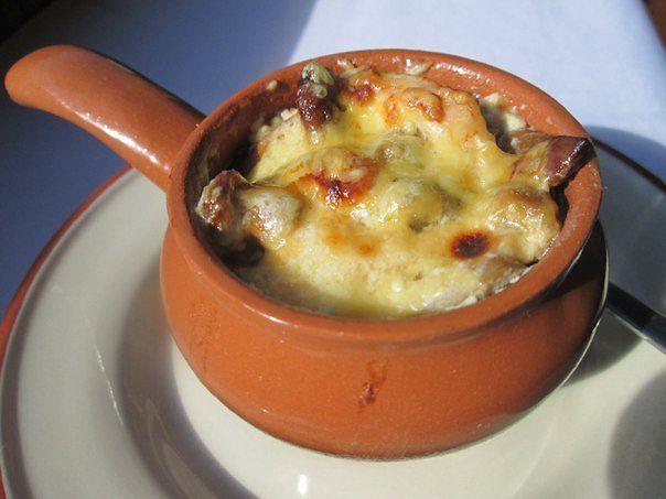Рецепт жульена с грибами и курицей и картофелем