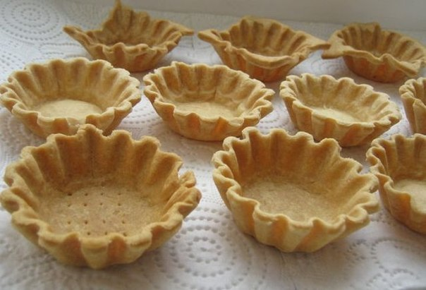 Песочное тесто для корзиночек рецепт с фото