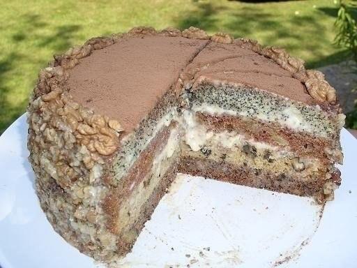 торт черный принц рецепт
