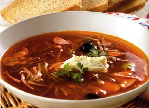 суп солянка видео рецепты