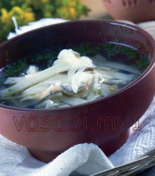 смотреть рецепт супа с грибами