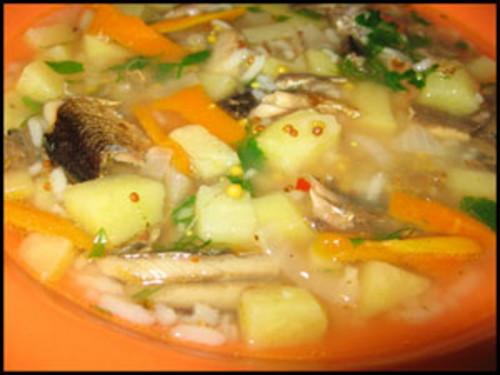 суп из шпротов рецепт с фото