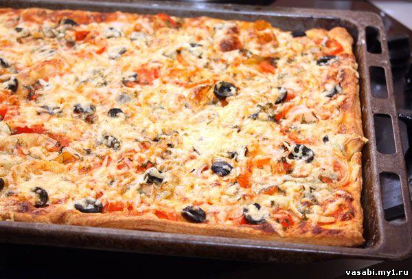 Экспресс пицца пицца рецепты с фото