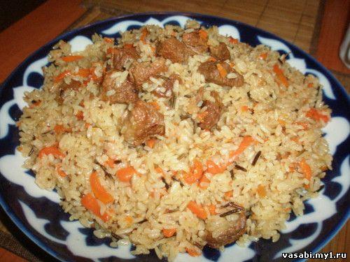 приготовление дикого риса рецепты