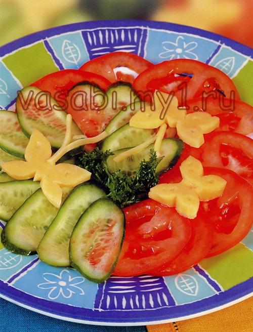 салат из рульки и огурцов рецепты