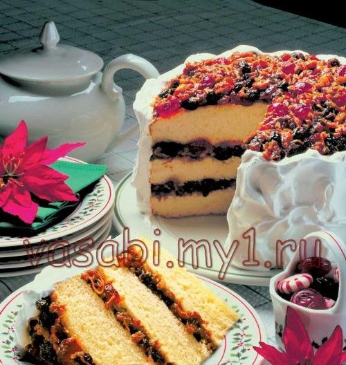 Торты рецепты с фото торт бисквитный с