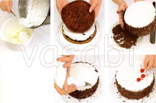 Торт черешенка