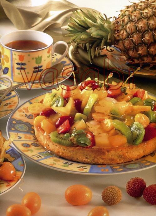 Торт радуга фруктов