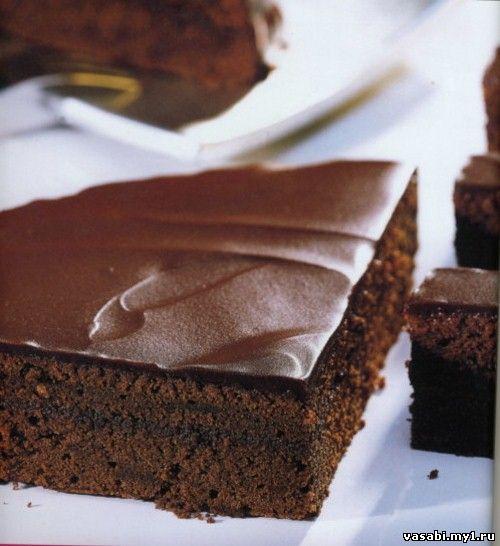Шоколадный торт нежный торты рецепты