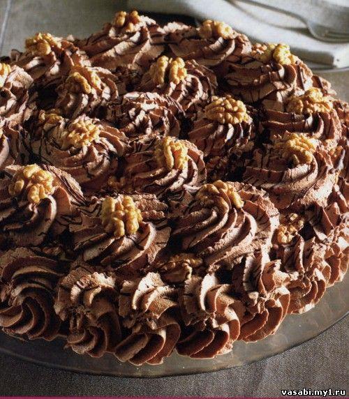 С грецким орехом торты рецепты с фото