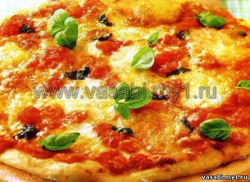И ароматная неаполитанская пицца