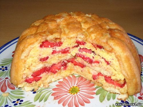 Рецепт шарлотки с фруктами с фото пошагово