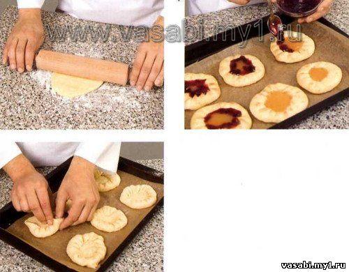 Как сделать сладкий пирог чтоб не вытекал