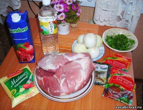 Рецепт «Экспресс-шашлык»